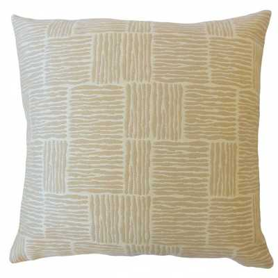 """Perrin Striped Pillow Sandl - 18"""" x 18"""" - Cover Only - Linen & Seam"""