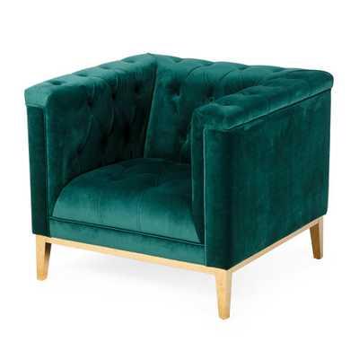 Belham Living Everly Arm Chair - Green - Hayneedle