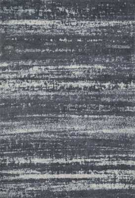 """DISCOVER Rug CHARCOAL 7'-6"""" x 9'-6"""" - Loma Threads"""