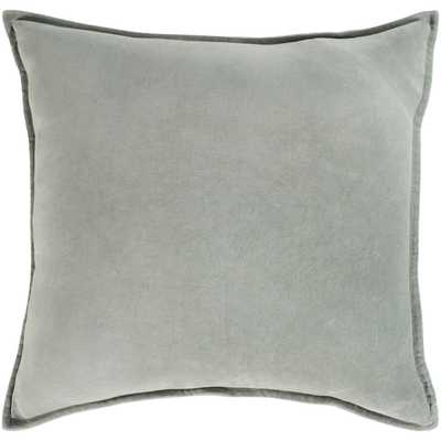 Cotton Velvet, Pillow w/Down Insert - Neva Home