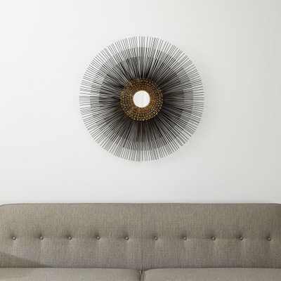 Starburst Round Wall Mirror - Crate and Barrel