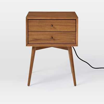 Mid-Century Charging Nightstand - West Elm