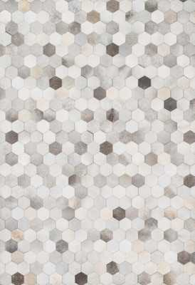 "PROMENADE Rug GREY 7'-6"" x 9'-6"" - Loma Threads"