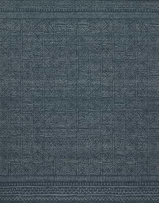 "TRIBU Rug INDIGO 7'-9"" x 9'-9"" - Loma Threads"