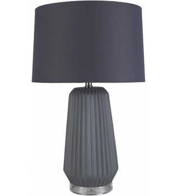 FEMMIE TABLE LAMP, BLACK - Lulu and Georgia