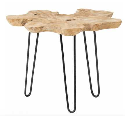 Satellite Side Table, Natural - High Fashion Home