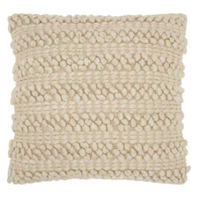 Mina Victory by Nourison Lifestyle Woven Stripes Decorative Throw Pillow - Hayneedle