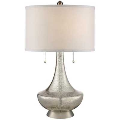 Trixie Mercury Glass Table Lamp - Lamps Plus