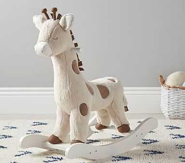 Giraffe Nursery Rocker - Pottery Barn Kids