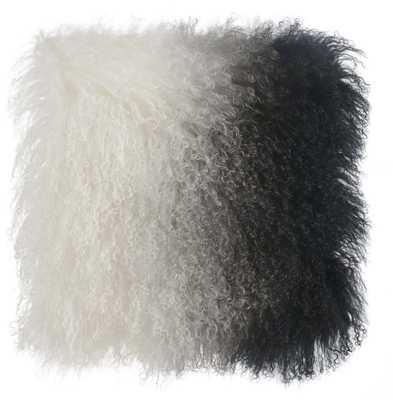 Felicity Sheep Pillow White to Black - Maren Home