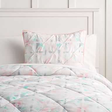 Watercolor Prism Comforter , Full/Queen, Multi - Pottery Barn Teen