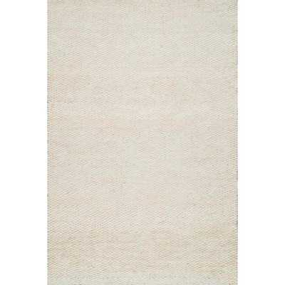 Hailey Jute Bleached 9 ft. x 12 ft. Area Rug - Home Depot