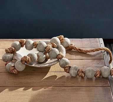 Cement Knotted Rope - Pottery Barn