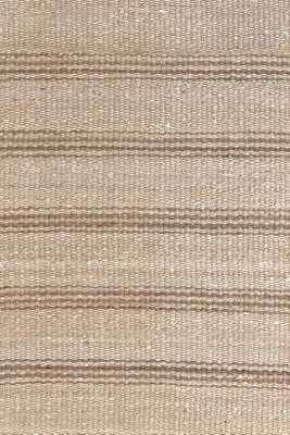 JUTE TICKING NATURAL WOVEN RUG - 8' x 10' - Dash and Albert