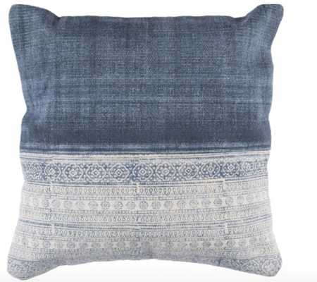 POST PILLOW, DENIM - Lulu and Georgia