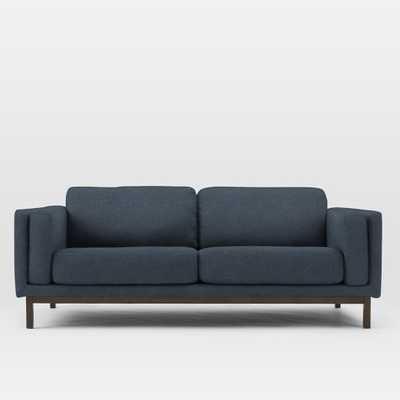 """Dekalb 85"""" Sofa, Twill, Indigo - West Elm"""