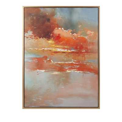 Messer Oil on Canvas with Frame - Mercer Collection