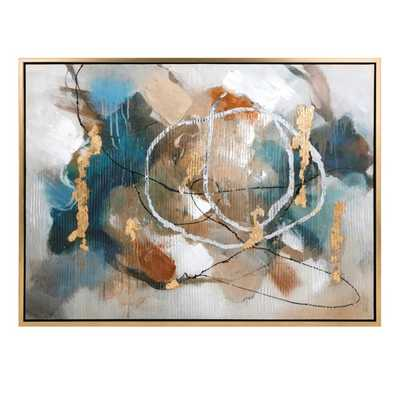 Coventia Wall Decor with Frame - Mercer Collection