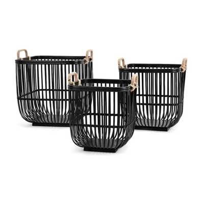 Rit Baskets - Set of 3 - Mercer Collection