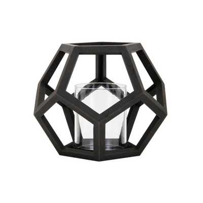 Ubon Small Wood Lantern - Mercer Collection