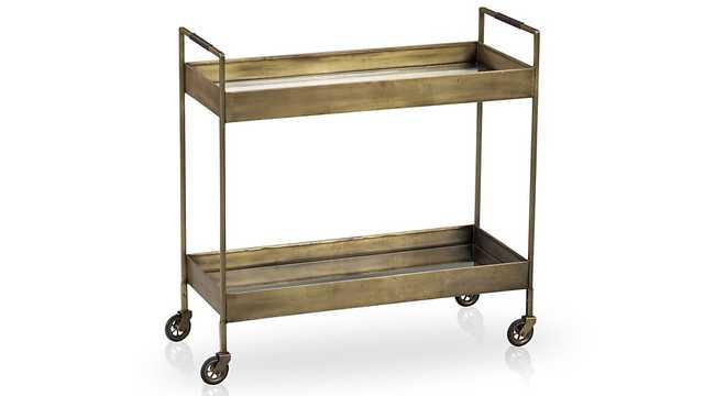 Libations Bar Cart - Crate and Barrel