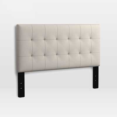 Modern Grid-Tufted Headboard - West Elm
