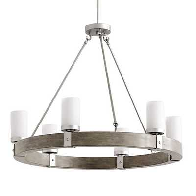 Arturo 6-Light Round Chandelier - Drift Wood - Ballard Designs