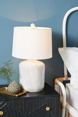 Mineral Ceramic Lamp Base - Anthropologie
