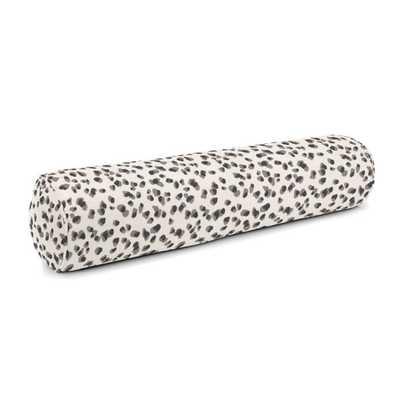 Bolster Pillow  Spot On - Cinder, Down Insert - Loom Decor