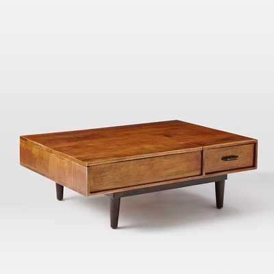 Lars Mid-Century Storage Coffee Table - West Elm