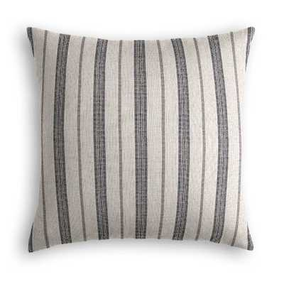 "Farm To Table, Ash - 22"" Throw Pillow with Down Insert - Loom Decor"