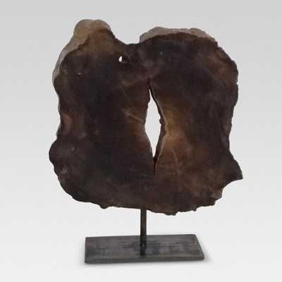Live Edge Wood Sculpture on Stand Short - Threshold™ - Target