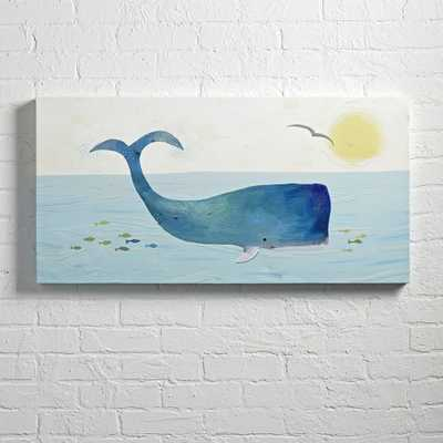 Whale Wall Art - Crate and Barrel