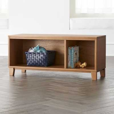 District 2-Cube Wood Stackable Bookcase - Crate and Barrel