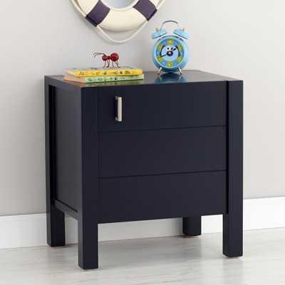 Kids Uptown Navy Blue Nightstand - Crate and Barrel