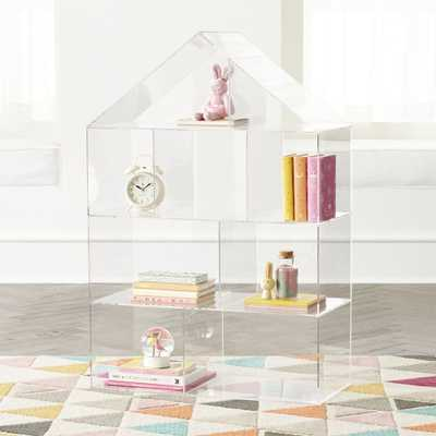 Acrylic House Bookcase - Crate and Barrel
