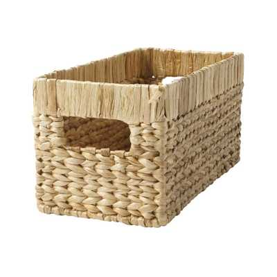 Natural Wicker Small Changing Table Basket - Crate and Barrel