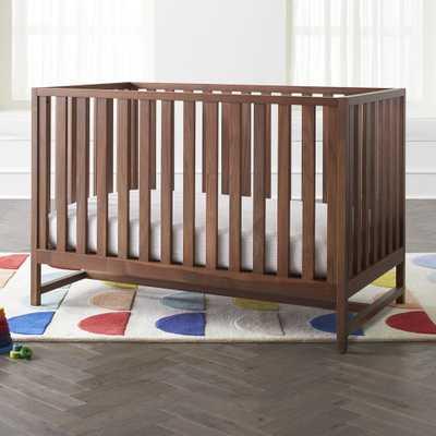 Taylor Walnut Crib - Crate and Barrel