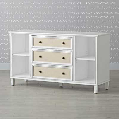 Kids Harmony Wide White Dresser - Crate and Barrel