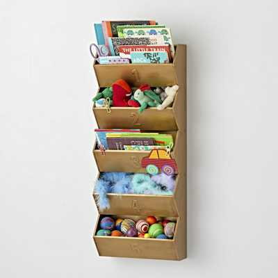 Gold Wall Organizer - Crate and Barrel
