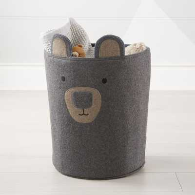 Bear Storage Bin - Crate and Barrel