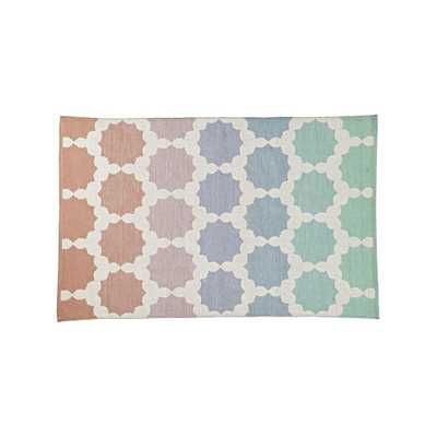 Starburst 8x10' Ombre Rug - Crate and Barrel