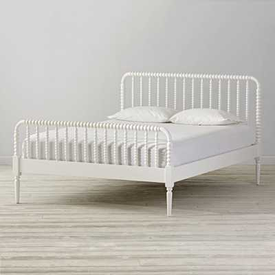 Jenny Lind White Queen Bed - Crate and Barrel