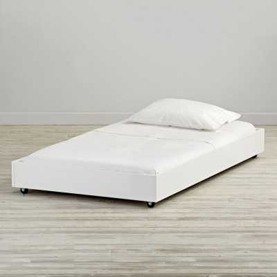 Jenny Lind White Trundle Bed - Crate and Barrel