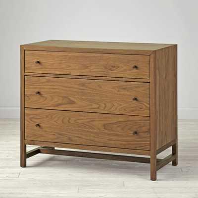 Kids Taylor Walnut 3-Drawer Dresser - Crate and Barrel