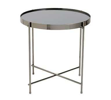 KEENAN END TABLE, BLACK - Pottery Barn