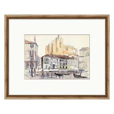 "Ballard Designs City Stroll Sketch Art  21"" x 26"" - Print III - Ballard Designs"