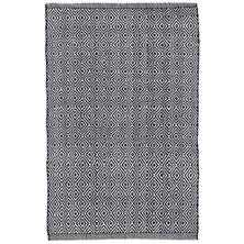 PETIT DIAMOND NAVY INDOOR/OUTDOOR RUG - Dash and Albert
