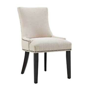 MARQUIS FABRIC DINING CHAIR IN BEIGE - Modway Furniture