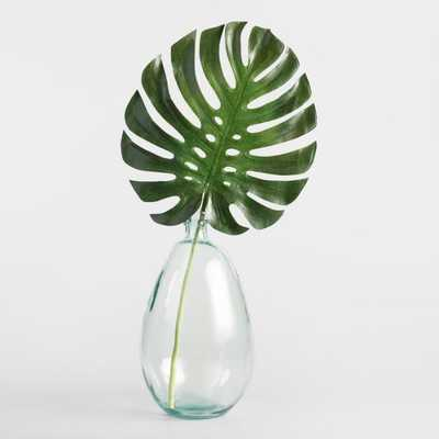 Faux Monstera Leaf Stem - World Market/Cost Plus
